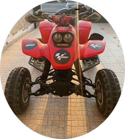 Moto 4 honda TRX 400ex