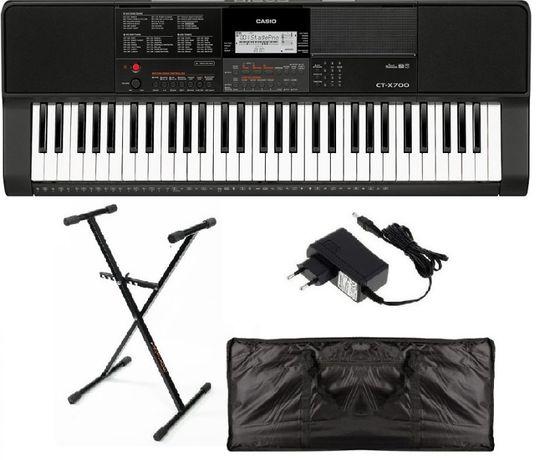 Keyboard Casio CT X700 mega pakiet NOWY WYSYŁKA w cenie 5lat gw.