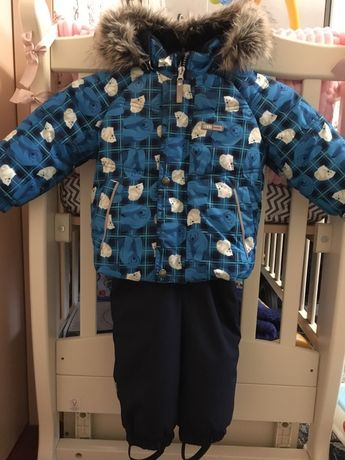 Зимний комбинезон комплект Lenne куртка + полукомбинезон