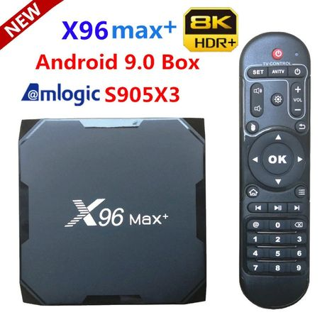 X96 MaxPlus2/16 4/32gb Amlogic S905-X3 Tv box Iptv Smart Wifi от 3190