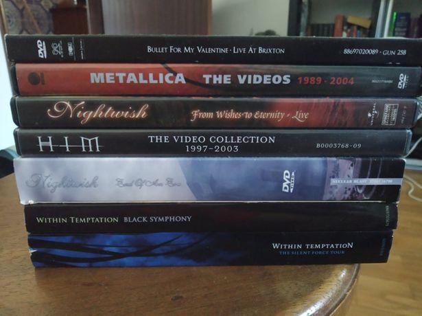 Varios DVDs Musicais