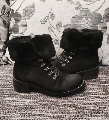 Сапоги,ботинки зимние на девочку,37