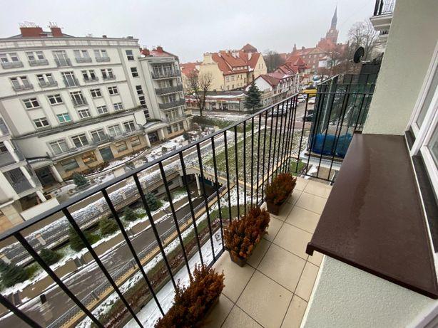 2 pokojowe mieszkanie (48m²) w ścisłym centrum Ełku + piwnica + balkon