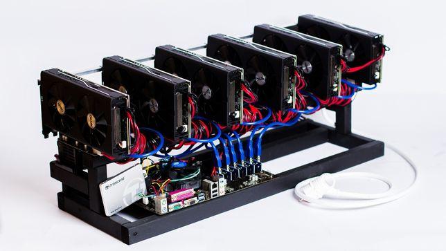GPU майнинг ферма RX 470 (4gb) 8 карт SAPPHIRE NITRO+