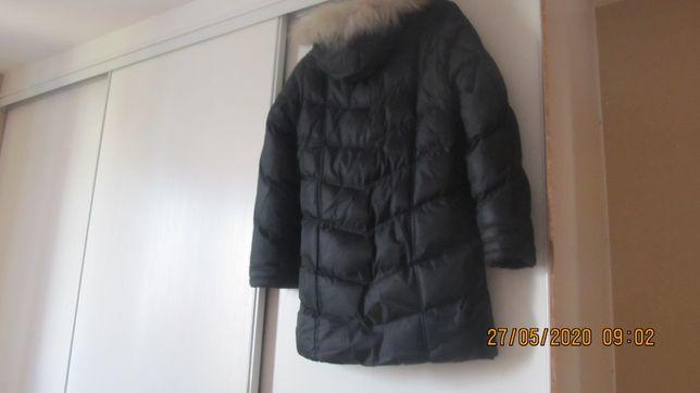 Kurtka zimowa damska pikowana czarna w rozmiarze M