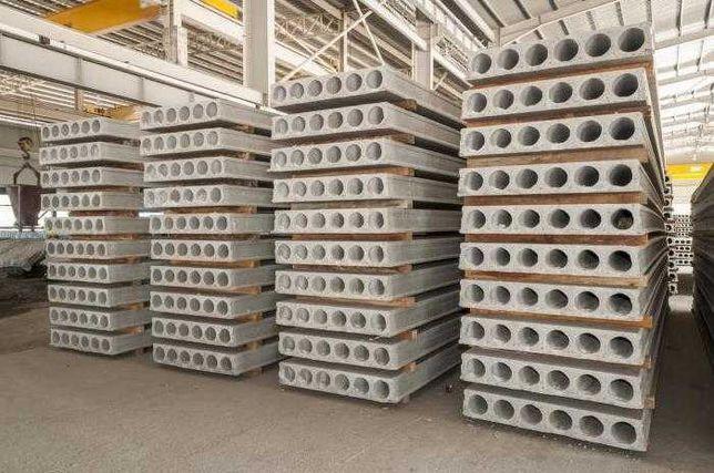 Плиты перекрытия, фундаментные блоки, Кольца, перемычки, ЖБИ до -25%