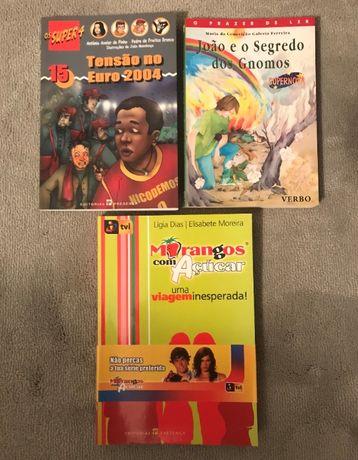 Livros 1ª edição: Super 4/João e o Segredo dos Gnomos/Morangos Açúcar