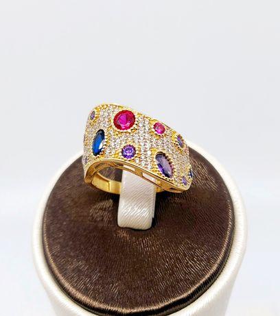 Złoty pierścionek próba 585 Rozmiar 16