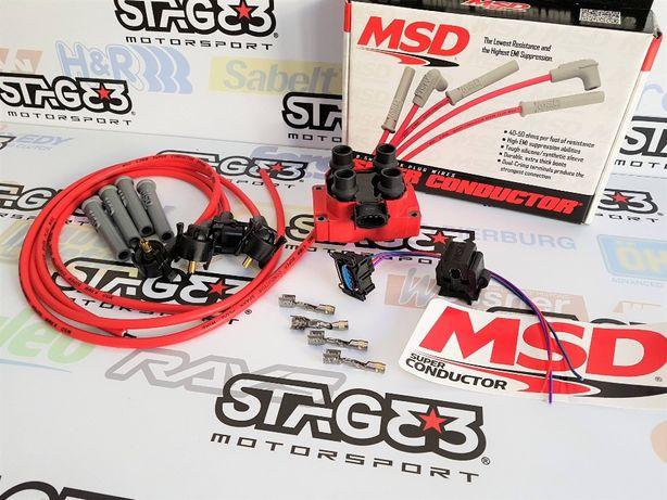 Kit MSD Modulo Bobine ignição Cabos Reforcados Saxo Cup Peugeot 106 G