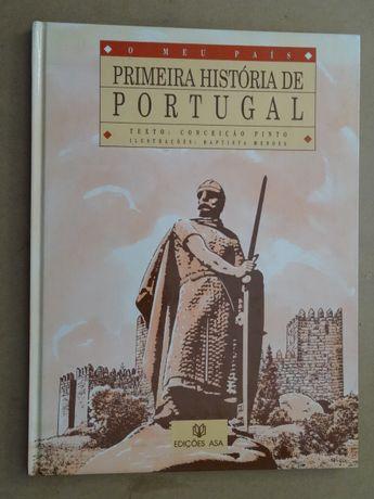 Primeira História de Portugal de Conceição Pinto