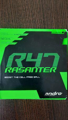 Borracha de ténis de mesa Andro Rasanter R47