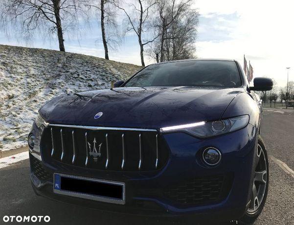 Maserati Levante Zjawiskowy SUV ItalianoVero Blu emozione brąz skóra 3.0d cesja leasing