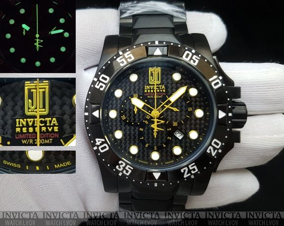 Швейцарские часы Invicta 14453 Reserve Jason Taylor Swiss Made
