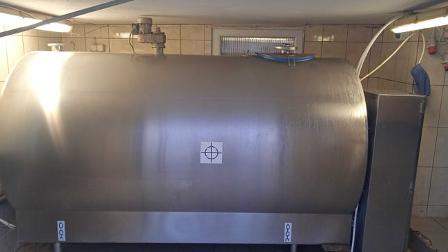 zbiornik schładzalnik 2600l na mleko krosno
