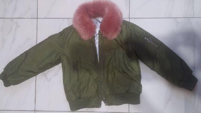 Куртка детская zara girls 110
