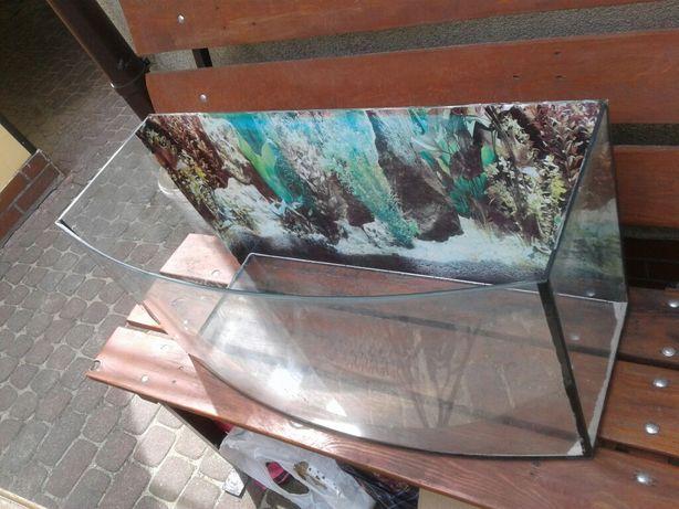 zestaw akwarium 120l pokrywa pompka grzałka  filtr lampa uv