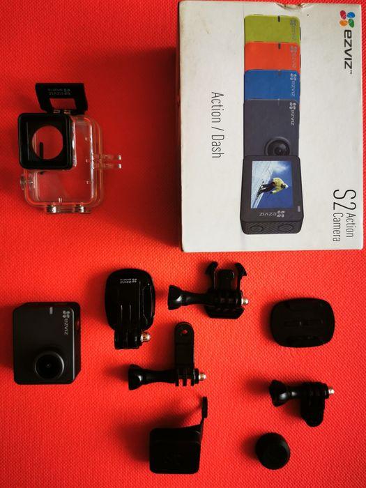 ezviz s2 2in1, экшн камера / видеорегистратор, новая, полный комплект Киев - изображение 1
