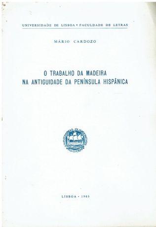 11087 O trabalho da madeira na antiguidade da Península Hispânica