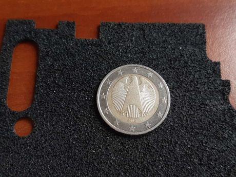 Юбилейная монета в ходу 2 Euro 2002 Германия