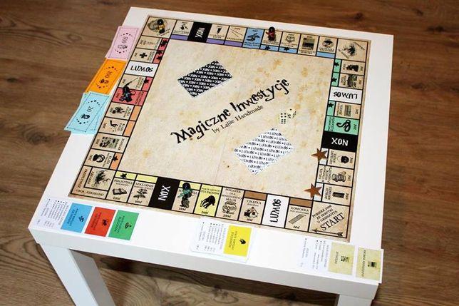 """Gra planszowa """"Magiczne Inwestycje"""" Harry Potter Monopoly NOWA"""