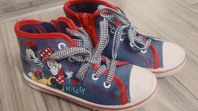 Trampki wysokie Myszka Mickey r 28