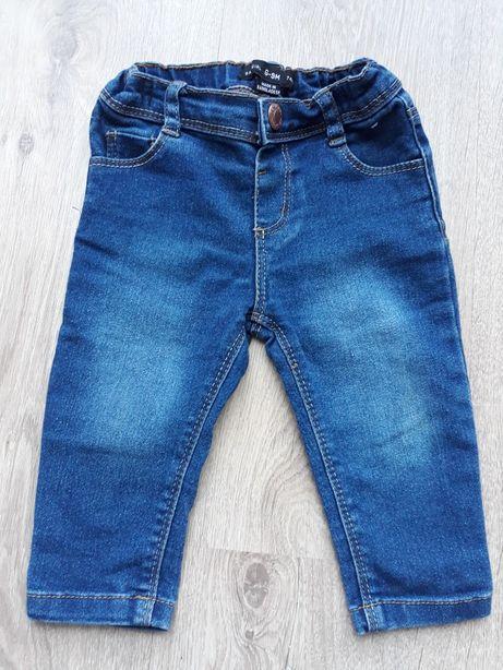 Spodnie/jeansy, rozm. 74