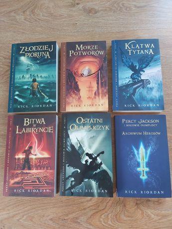 Książki Percy Jackson i bogowie