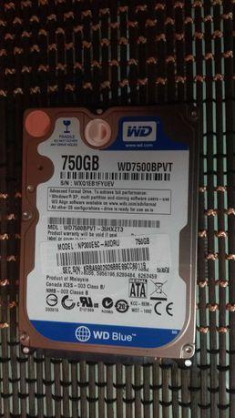 Жесткий диск для ноутбука WD Blue 750GB WD7500BPVT 2.5
