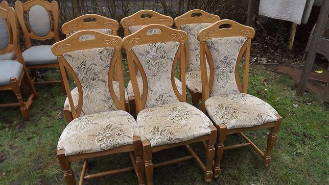 meble dębowe, komody, stoły, krzesła, itd.,
