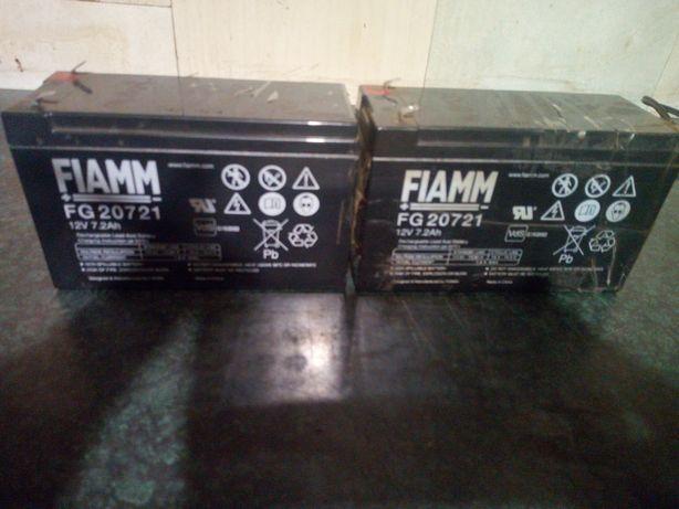 Akumulatory Fiamm 12V -7,2 Ah