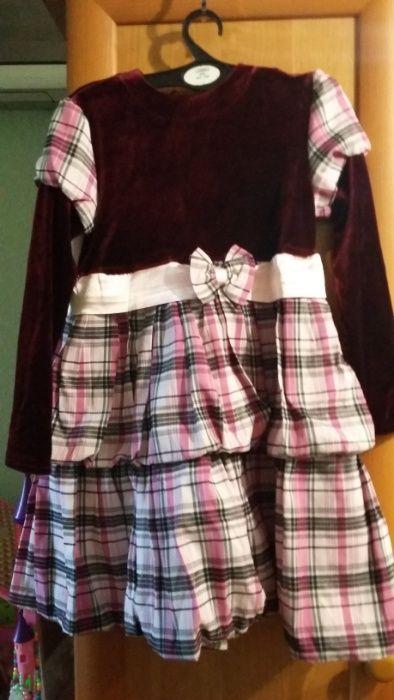 платье на рост 116 см 300 рублей Донецк - изображение 1