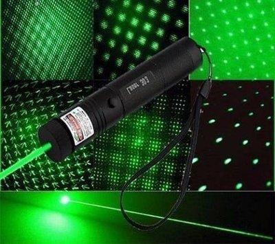 Лазерная указка зелёный лазер с насадкой