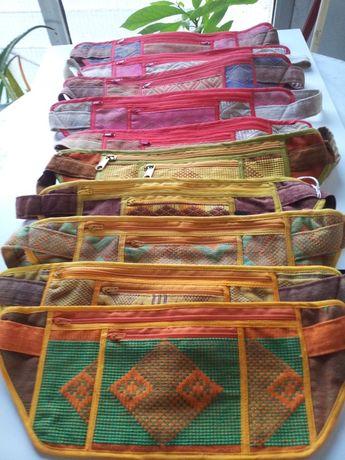 Bolsas de atar à cintura - Tecidos Africanos
