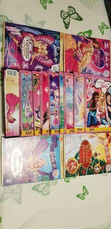 Bajki DVD Barbie kolekcja 16 sztuk