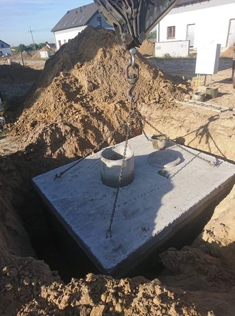 Zbiornik szambo szamba betonowe Bielsko Biała Rybnik Zawiercie Tychy