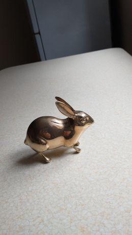 Mosiezny zajaczek 11.5 cm dlugosci
