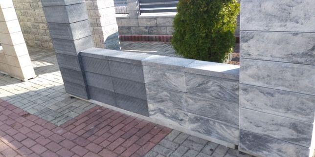 Joniec ogrodzenia Pustaki ROMA Ogrodzenie Płot mur bloczki betonowe