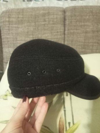 шапка кепка теплая