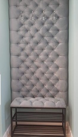 Panel Panele ścianki tapicerowane wnęki sypialnie na wymiar 30/60