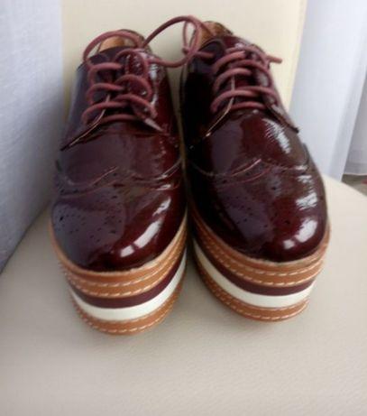 Броги туфли сникерси