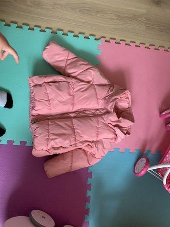 Sprzedam kurtkę dla dziewczynki rozmiar 116 Zara