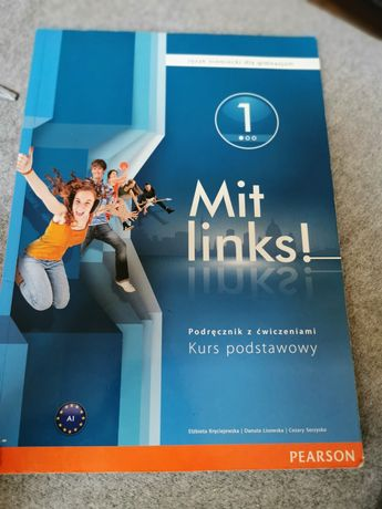 Książka język niemiecki Mit links 1 plus płyta CD