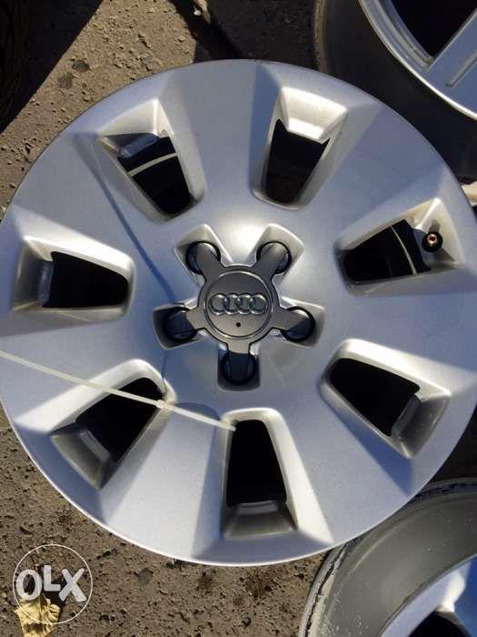 Felgi AUDI a3 a4 a5 a6 VW MERCEDES SKODA 16 5x112 oryginalne AUDI !! Wałbrzych - image 1