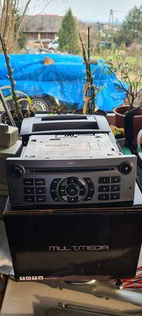 Radio  i wyświetlacz do peugeot 407
