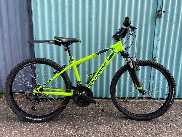 Rower dziecięcy górski MTB Rockrider ST 500 24 cali JAK NOWY