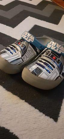 Crocsy chłopięce 34,35 cm . Star Wars . J3