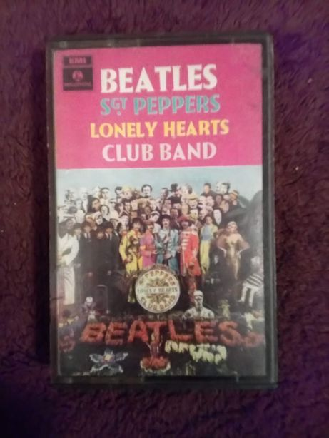 Cassete/K7 - The Beatles–Sgt. Pepper's Lonely Hearts Club Band