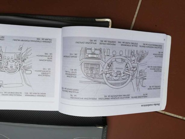 Oryginalna instrukcja Honda Accord 2001 - język polski