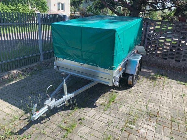 Przyczepka przyczepa samochodowa DMC 750 kg, wzmacniana 2,00 x 1,25