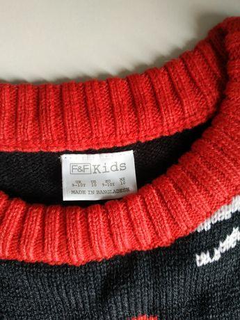 Новогодние свитера F&F на 7,9 и 11 лет